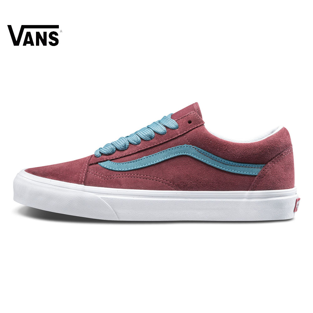 Original Vans Men's Old Skool Skateboarding Low-Top Shoes Sports Shoes Sneakers Leisure VN0A38G1R0X R0Y 2018 New Arrival Good