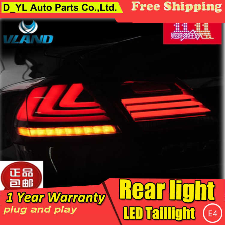 Car Styling Taillight Accessories for Honda Accord LED Taillights 2013-2016 Accord Tail Lamp Rear Lamp DRL+Brake+Park+Signal led
