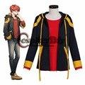 Juego caliente Mystic Mensajero 707 Top Cosplay Disfraces de Halloween Para Adultos camiseta Chaqueta Por Encargo J10