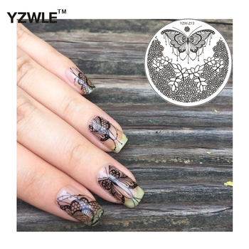 Nail Image Stamps Plate Stamping Manicure Nail Art Decor Template Printing Plate image