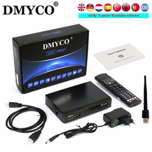 1 Year Clines Satelliter Receiver Latest Receptor Box V9S PRO TV Box Watch Cable HD Channels USB WIFI to Replace Box PK V8 Super