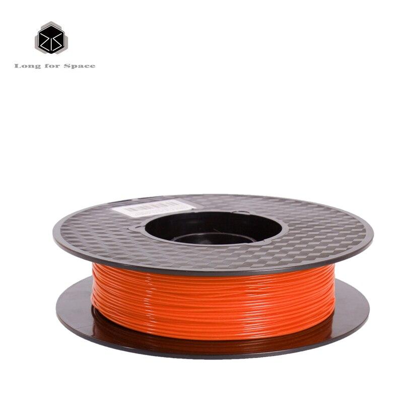 20 Colors 3D Printer Filament PLA 1.75mm Plastic Rubber Consumables Material 0.5Kg PLA