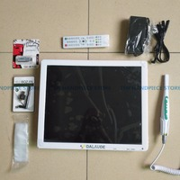 2018 good Quality 5.0 mega pixels 17inch LCD monitor with usb intra oral camera all in one machine Dental endoscope