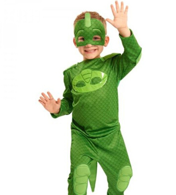 PJ Masks Owlette Classic Toddler Child Costume Kid Costume And Silky Cloak