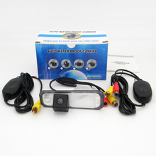 For KIA Rio Hatchback / Rio5 (JB) 2005~2011 / RCA AUX Wire Or Wireless / HD Wide Lens Angle CCD Night Vision Car Parking Camera