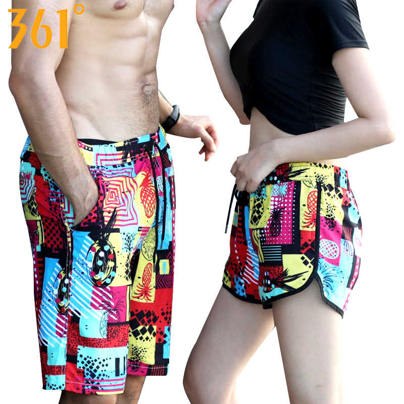 6d2ba0ab07 ... 361 Couple Matching Swimsuit Men Women Beach Shorts Quick Dry Surfing  Pants Board Shorts Swimming Trunks ...