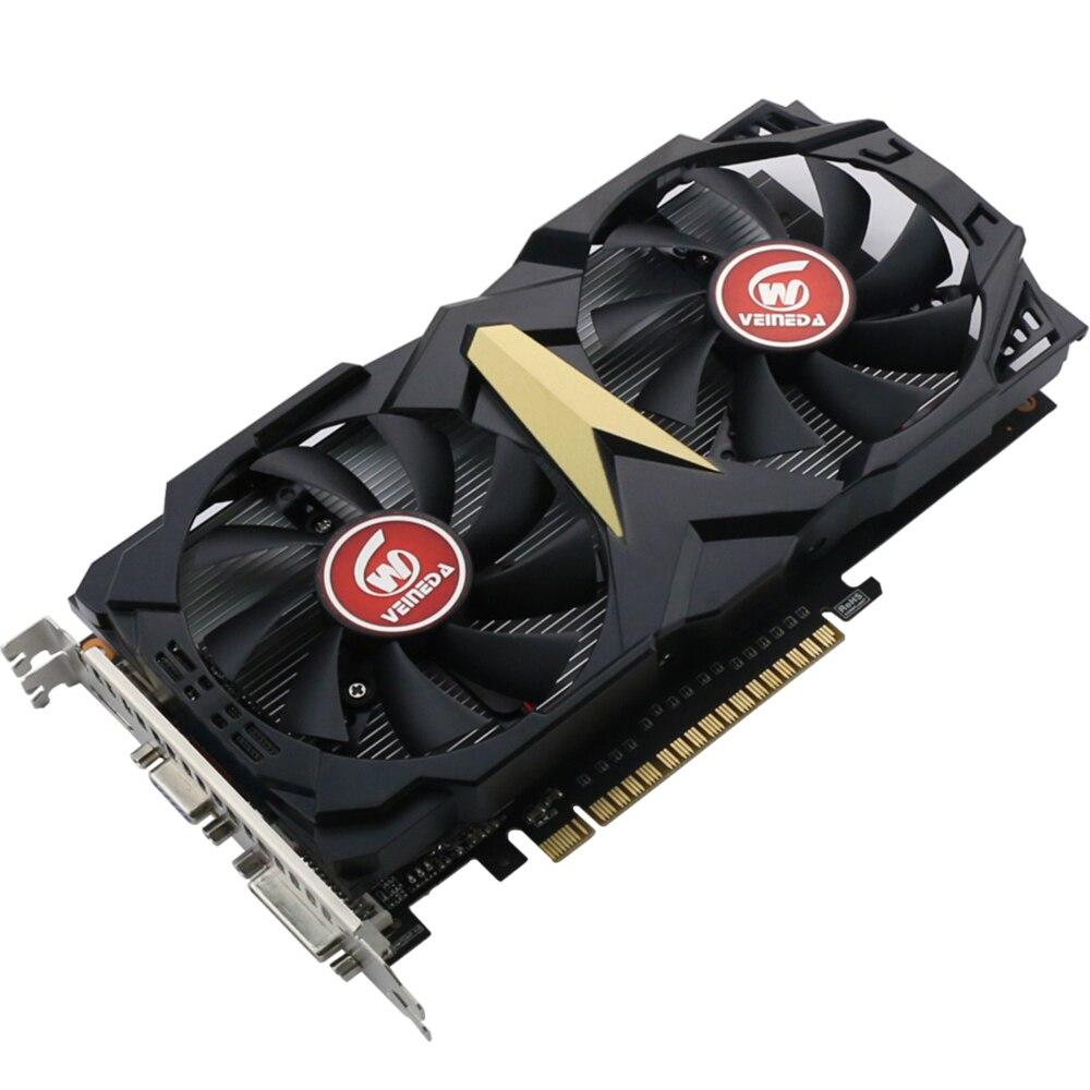 VEINEDA carte vidéo originale nouvelle carte graphique GT740 2 GB GDDR5 128BIT pour nVIDIA Geforce Games - 3