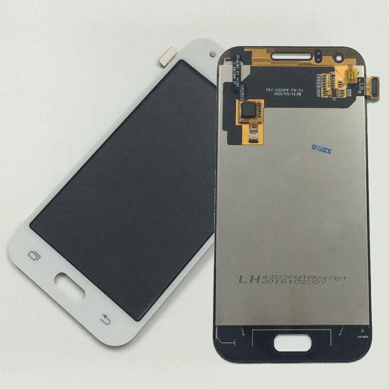 White For Samsung Galaxy J1 J100 SM-J100F J100H J100FN Touch Screen Digitizer Sensor Glass + LCD Display Panel Monitor Assembly
