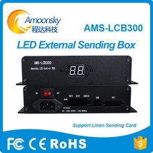 цена на AMS-LCB300 linsn led sending box support linsn ts802d led sending card adjust brightness