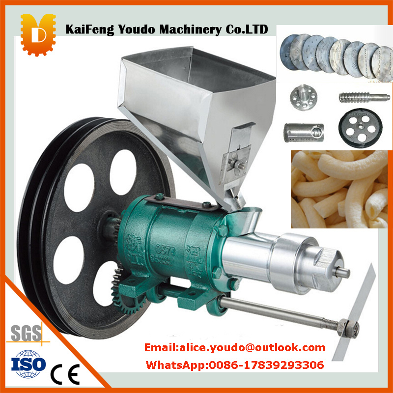 Stainless steel corn puffing food machine/snack food extruder machine large production of snack foods puffing machine grain extruder single screw food extruder