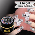High Quality 6G Che gel Nail Art Rhinestone Gel Glue Use For Nail Tips Decoration Jewelry And Garment
