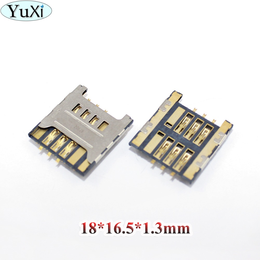 YuXi SIM Card Tray Reader Module Holder For Samsung Galaxy 5 I5500 Pop Plus S5570 S5570i S 4G T959 S8530 F619 C3730 Wave II