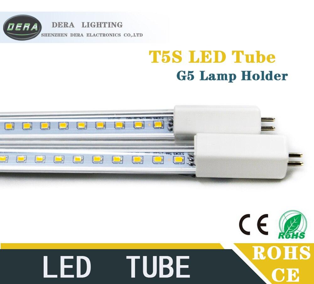 2 шт 8 Вт 9 Вт 2FT T5 <font><b>LED</b></font> <font><b>G5</b></font> встроенный драйвер дневной свет замены трубки лампа AC 110- 277 В 560/530 мм