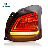 VLAND Factory Swift Tail light for Swift 2017 2018 2019 for Suzuki Swift Full LED Tail lamp with Sequential Indicator With DRL