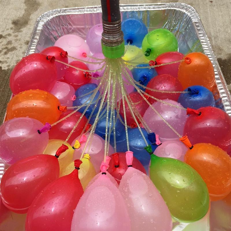 packagelot coloridos globos de agua para los nios fiesta de bombas de agua juguetes de playa de verano para nios juegos de