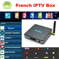 BB2 Cuadro de TV Android 2/16 GB Android 6.0 Con 1 Año envío 900 + Canales de IPTV Francés QHDTV/Neotv Árabe IPTV Amlogic S912 Octa núcleo