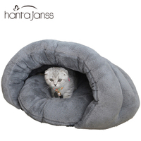 Dog House Medium Dog Bed Cat Bed Cave Cotton Padded Warm Winter Pet Bed Puppy Mats Two Colors Kitten Cushions Supplies