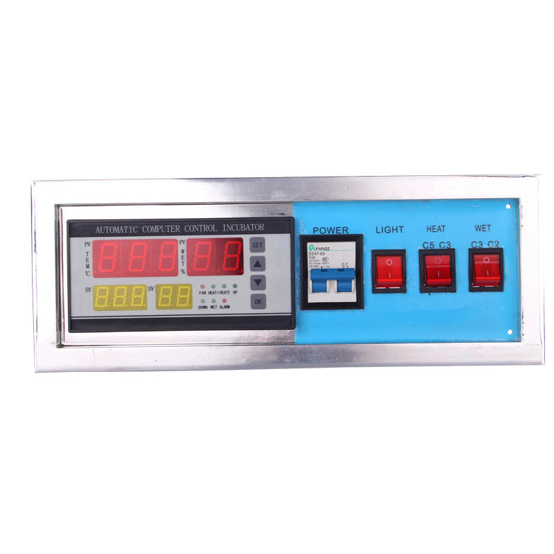 Universal 220V LCD Display Temperature Controller Switch Thermostat Relay Incubation Control W/ Sensor ac 250v 20a normal close 60c temperature control switch bimetal thermostat