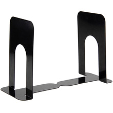 Heavy Duty Metal Bookends Book Ends Home & School Office Stationery - 4 Pairs 8