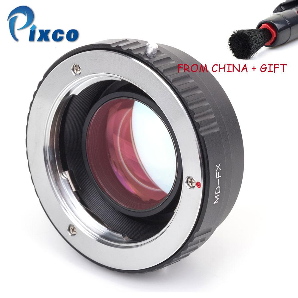 ADPLO fokální redukce rychlosti booster PRO objektiv Adaptér oblek pro Nikon G objektivu pro fotoaparát Fujifilm X (Gold)  t