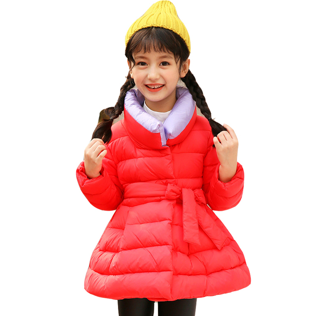 aad2dce95 Teenage Girls Coats Winter Cotton Padded Jackets For Girls Clothing ...