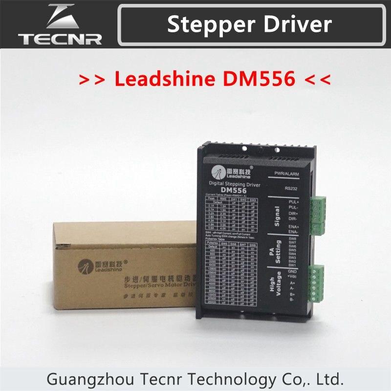 TECNR 2 phase Leadshine DM556 fahrer für 57mm 86mm schrittmotor fahrer 18-48 VDC 2.1A zu 5.6A
