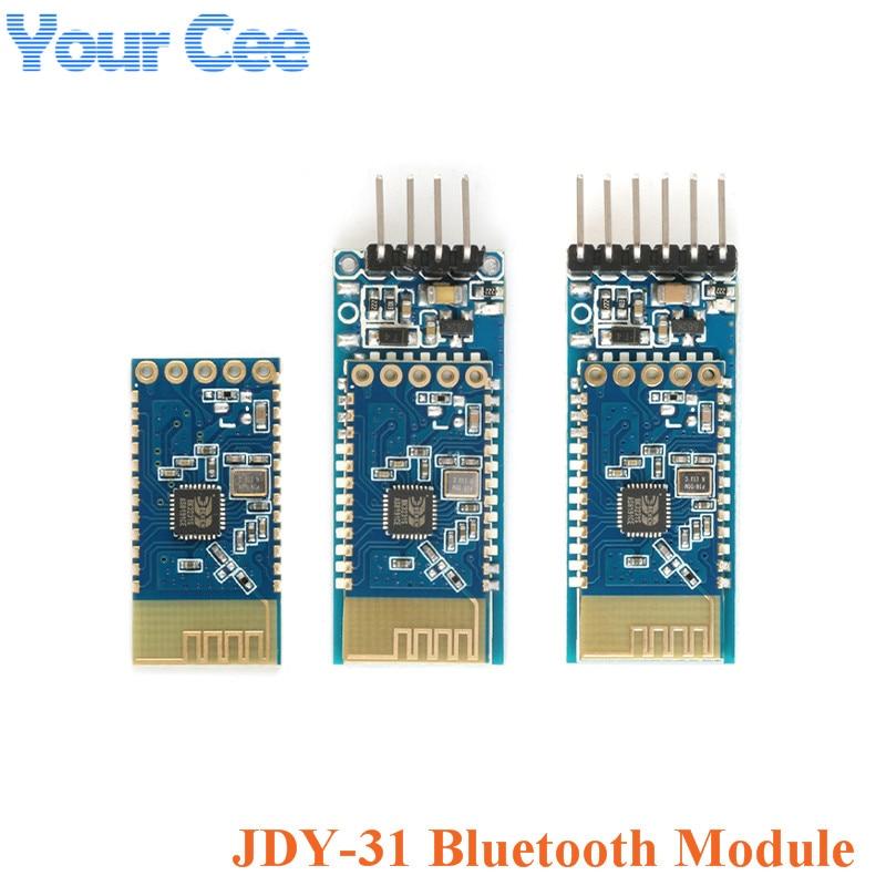 JDY-31 Bluetooth 3.0 SPP-C Bluetooth Module Serial Port Pass-through Wireless Communication 2.4G JDY-30 Compatible HC-05 HC-06