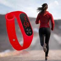 Nuevo reloj de lujo para hombre, reloj de pulsera deportivo de goma, reloj de pulsera, reloj Digital LCD para hombre, a la moda, impermeable, para hombre, 533