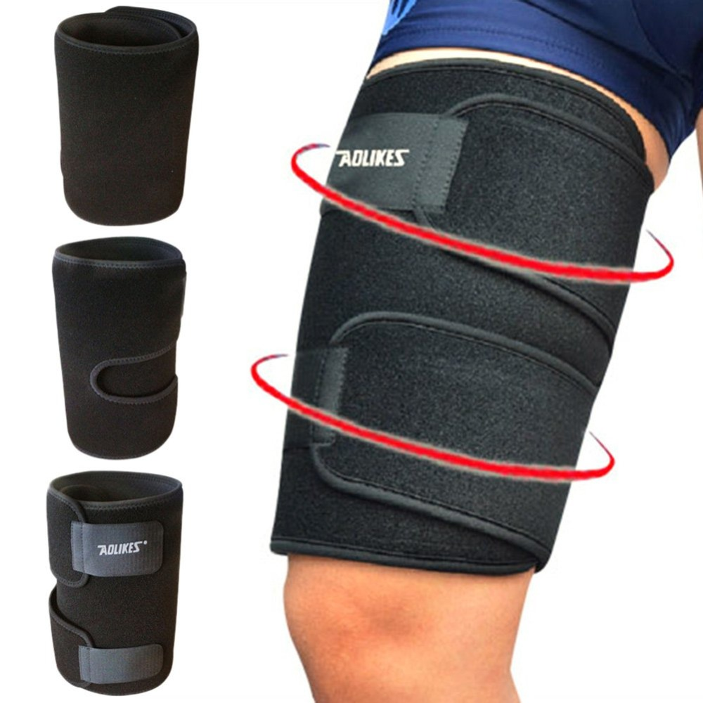 Outdoor Sports Leg Sleeve Support Brace Knee Pads Kneepad Basketball Sport Compression Calf Stretch Thigh Skin Protector In Elbow From