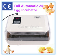 CE approved 24 chicken eggs automatic chicken egg incubator hatching machine