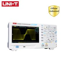UNI-T UPO2202CS Ultra Phosphor Oscilloscope 2 Channels 200MHz Bandwidth 1GS/s Sampling Rate USB Communication siglent 28m deep memory sds2074 super phosphor oscilloscope 70mhz portable oscilloscope 4 channels oscilloscope