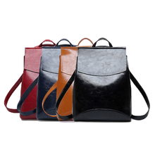 New 2019 Fashion Women PU Leather Backpack High Quality Yout