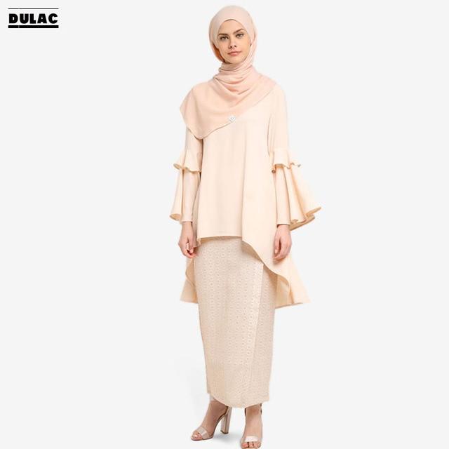 Advanced Customization Wholesale Middle East Plus Size Women Clothing  Muslim Dress Islamic Clothing Malaysia Maxi Baju Kurung 58749aaa6ab9