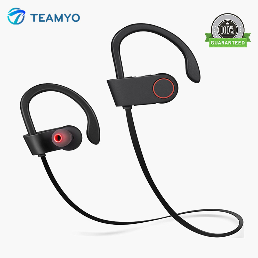 Teamyo Bluetooth Earphone Headphones Wireless Earbuds Sport earphone bluetooth handsfree headset with mic ecouteurs for Phone 2017 scomas i7 mini bluetooth earbud wireless invisible headphones headset with mic stereo bluetooth earphone for iphone android