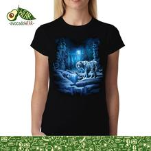 White Tiger Snow Forest Women men T-shirt S-3XL New T Shirts Funny Tops Tee Unisex  High Quality Casual Printing