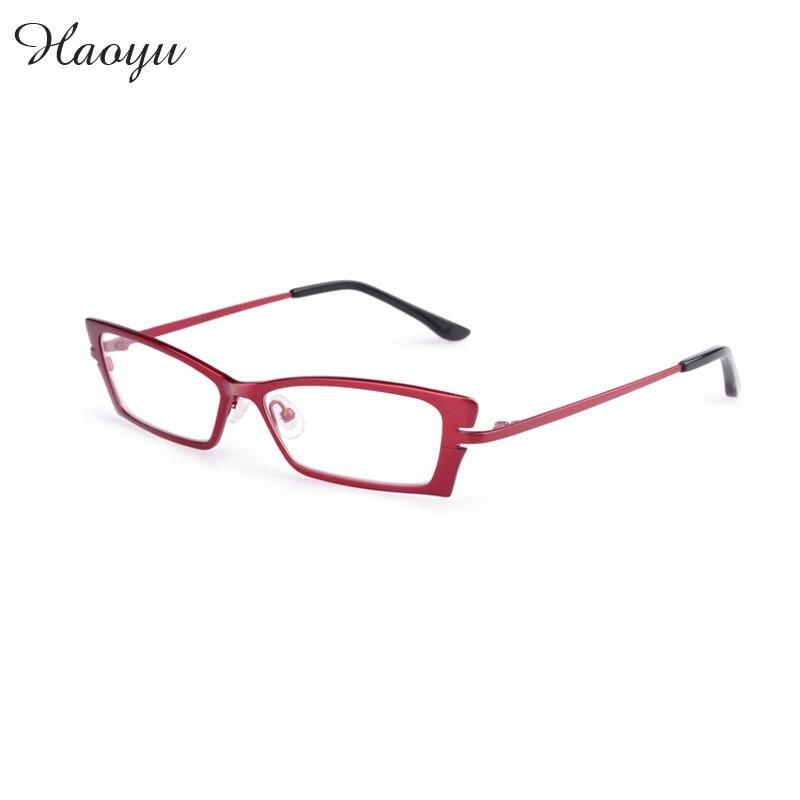 Haoyu 100 Pure Titanium Full Glasses Frame Myopia Hyperopia
