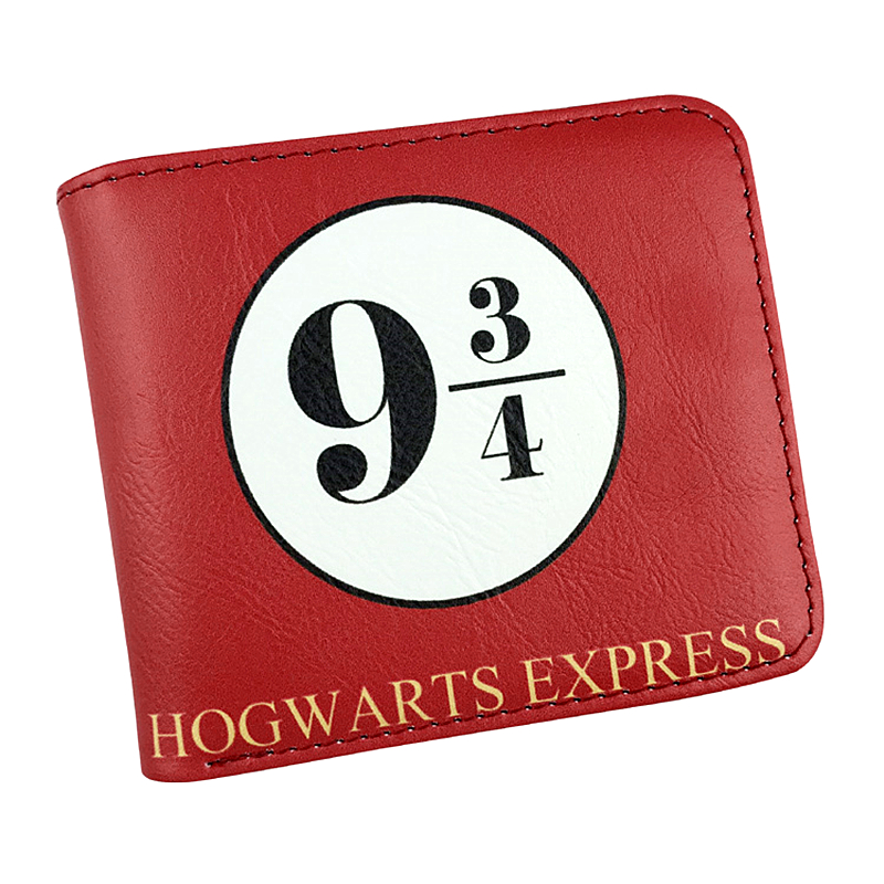 FVIP Harry Potter Short Wallet Hogwarts Express 9 3/4 Gryffindor Marauder's Map Cool Design Short Purse Card Holder fvip new arrival wallet harry potter gryffindor attack on titan wonder woman pirates miku with card holder and coin purse bag