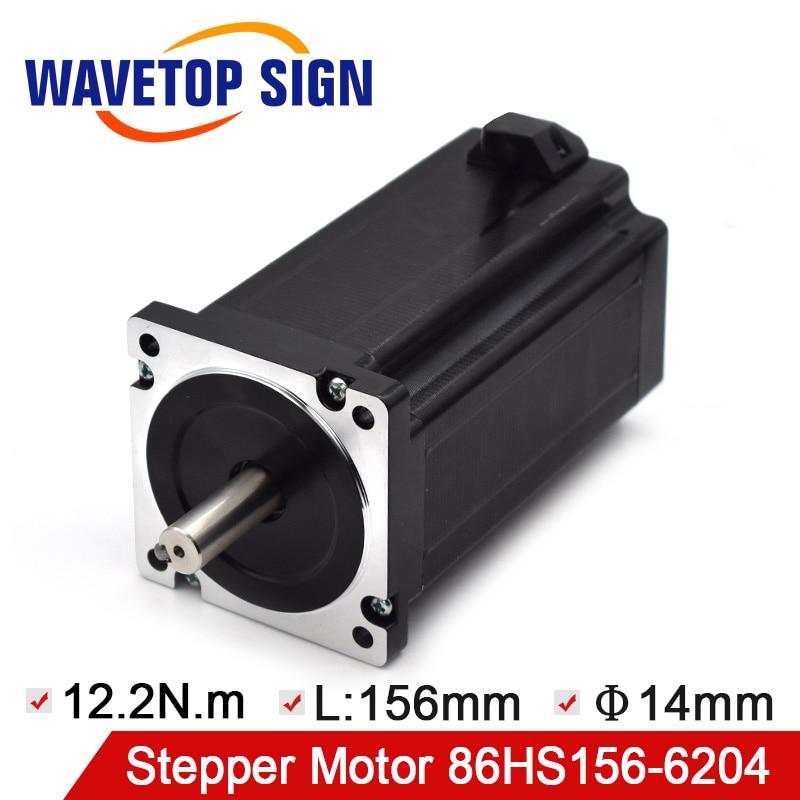 2Phase Step Motor NEMA34 86HS156-6204 12.2N.m Motor Length 156mm Input Voltage AC60V2Phase Step Motor NEMA34 86HS156-6204 12.2N.m Motor Length 156mm Input Voltage AC60V