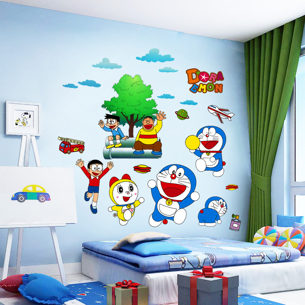 Online Buy Grosir Stiker Dinding Doraemon From China Stiker