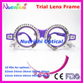 XD05 Retail Colorful Fixed PD Distance Optometry Trial Lens Frame 10 Different Colors For Option Free Shipping