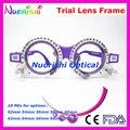 Xd05 varejo colorido PD fixo distância optometria teste Lens quadro 10 cores diferentes para a opção frete grátis