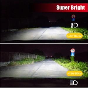 Image 3 - BraveWay CSP Chip Headlight Bulbs H4 H7 H8 H9 H11 LED Lamps for Car 12V 9005 HB3 9006 HB4 9012 HIR2 H4 Led Bulbs for Motorcycle