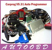 2016 Новые Авто ремонт инструмента CARPROG Полный V9.31 программист автомобиль прога все программное обеспечение (радио, одометров, панелей, иммобилайзер)