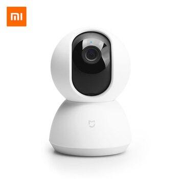 Оригинальный Xiao mi jia смарт-камера PTZ 360 угол 1080P AI ночное видение веб-камера IP видеокамера интеллектуальная DV c Wi-Fi mi умный дом приложение >>