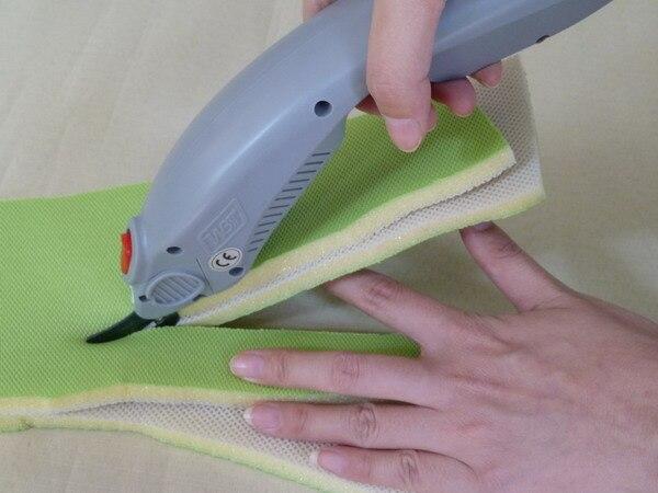 Puissance électrique éponge swob cutter mousse de coupe couteau