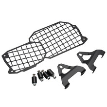 For BMW F800GS/Triple Black ABS/Trophy ABS Motorcycle Headlight Protector Grill Cover F800 F 800 GS F650GS F700GS