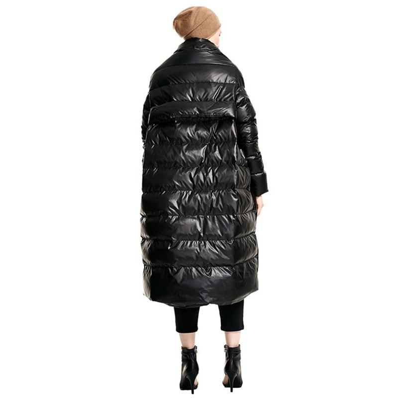 Zll1290 Asymétrique Black Europe Vers 2018 Automne Pleine Mode Solide Casual Zll1290 Couvert Bas Femmes Manteau Couleur Bouton Manches Épais Nouveau red xitao Le AHwRw