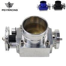 Дроссельной заслонки 80 мм дроссельной заслонки производительность впускной коллектор Заготовка алюминий высокий поток PQY6980