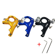 Cheapest prices Hot Sale 3 Finger Stainless Steel Release Aid Archery Caliper Bow & Arrows Release for Compound Bow Hunting Shooting Accessories