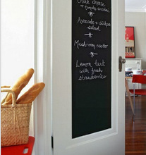 Chalk Board Blackboard Stickers Removable Vinyl Draw Decor Mural Decals Art Chalkboard Wall Sticker For Kids Rooms IC871243(China)